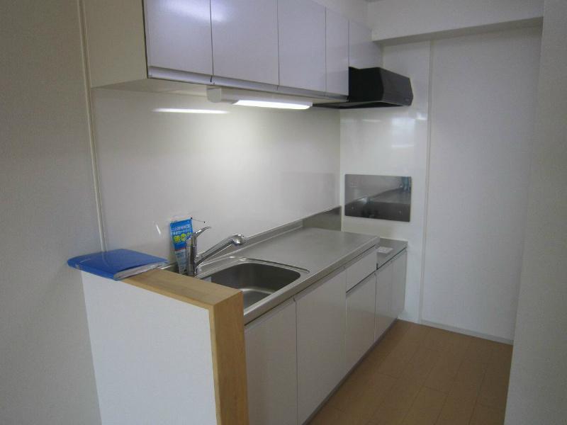 キッチン ガスコンロ設置可能