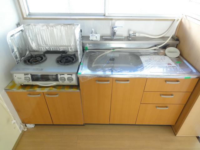 綺麗なキッチンになります。