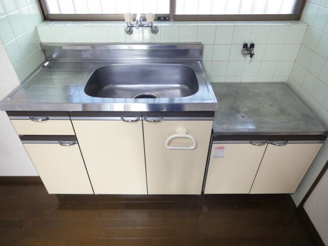 二口コンロ設置可能キッチンになります。