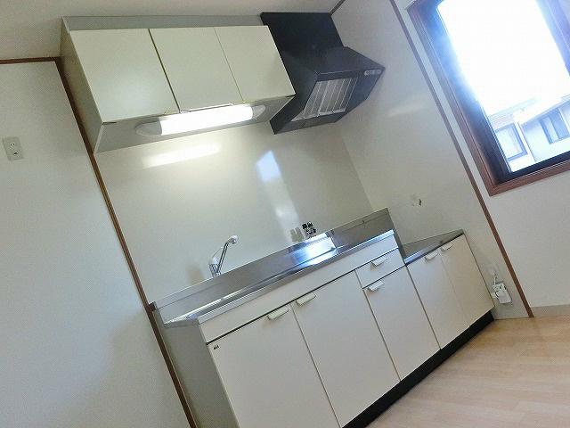 2口ガスコンロを設置していただけるキッチン